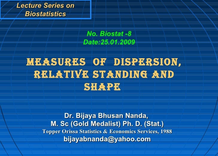 Measures of dispersion ppt video online download.