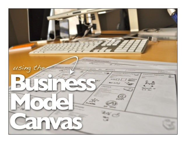 Business Model Canvas using the