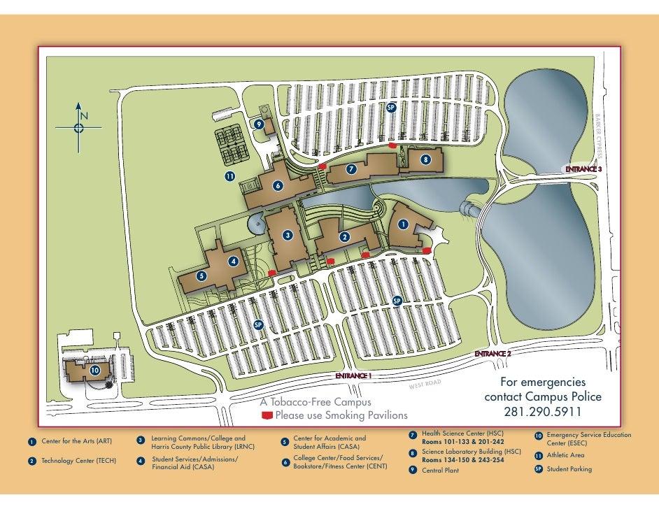 Lsc Cyfair Campus Map