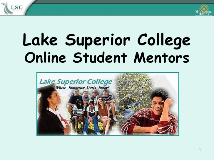 Lake Superior College Online Student Mentors