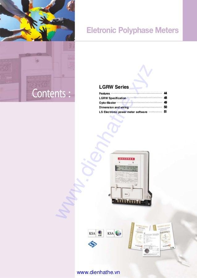 Ls Catalog Thiet Bi Tu Dong Digital Electricity Meter