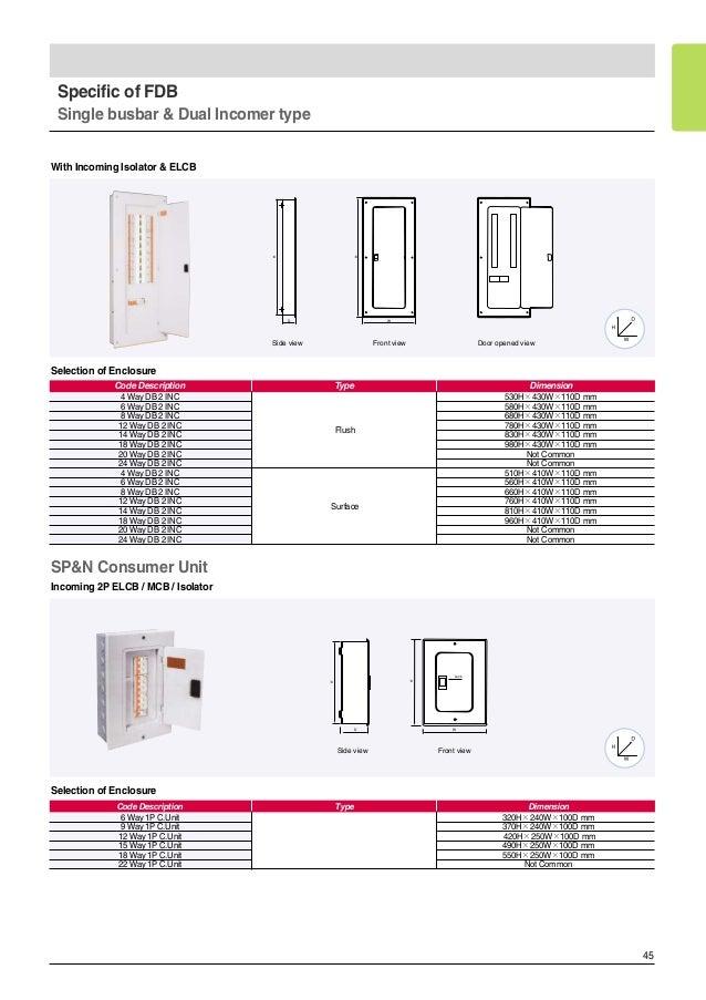 LS Circuit Breaker Catalogue - Elcb wiring diagram drawing
