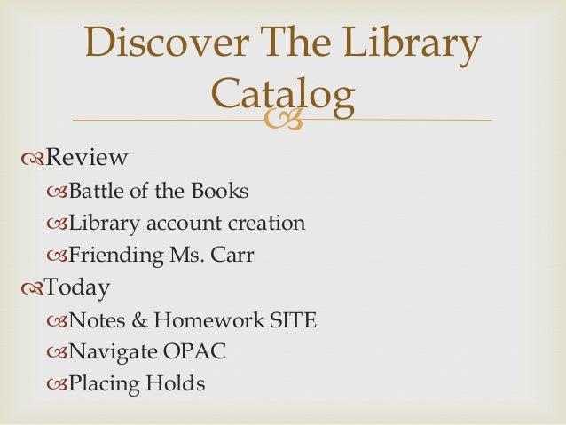 Librark Skills: Class Three Slide 2