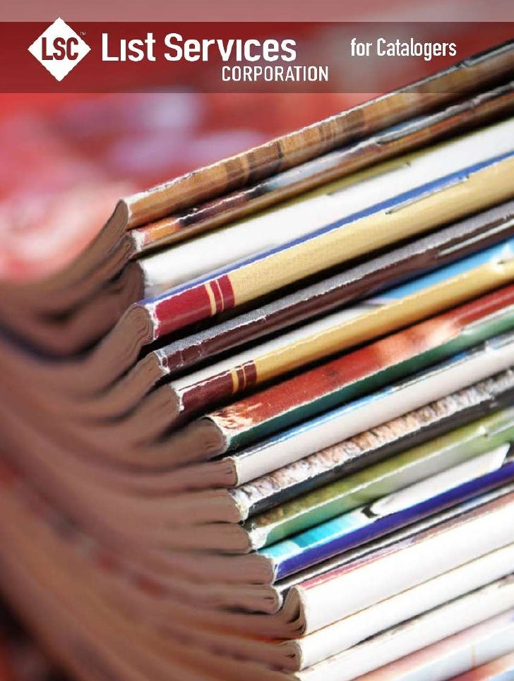 LSC Marketing Services For Catalogers