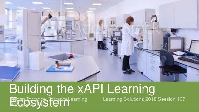 Building the xAPI Learning EcosystemMegan Torrance, TorranceLearning Learning Solutions 2018 Session 407 Rob Houck, UL