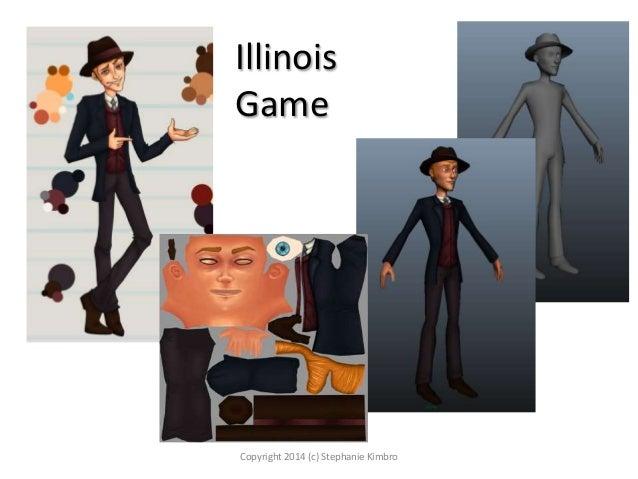 Illinois Game  Copyright 2014 (c) Stephanie Kimbro
