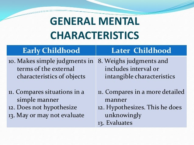 infancy babyhood and early childhood Infancy & childhood development alex abrahams baby and toddler erik erikson's theory of psychosocial development in infancy and early childhood.