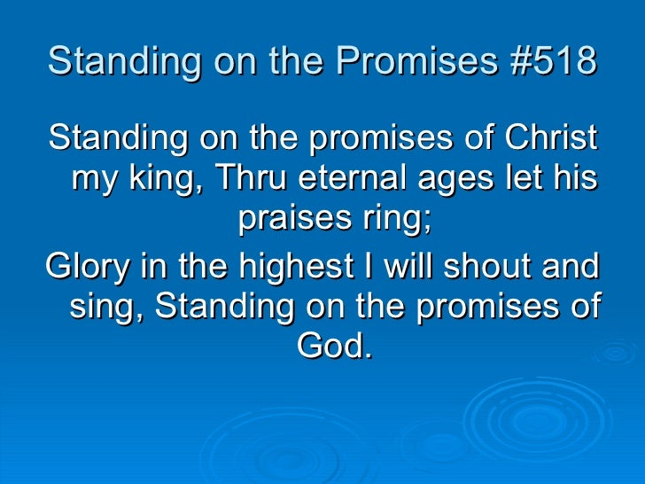 Sing Let It Ring For The Glory Of The King