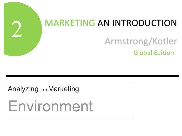Analyzing  the  Marketing Environment 2