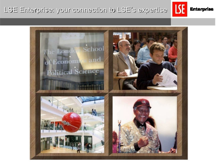 LSE Enterprise: your connection to LSE's expertise