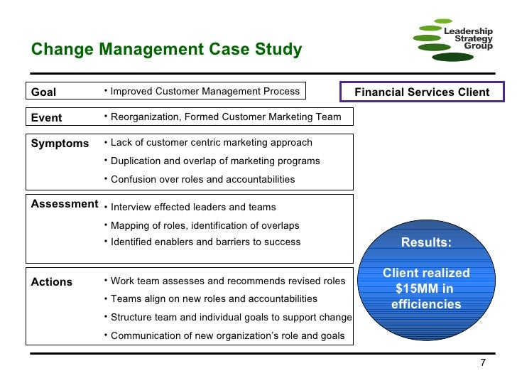 Change management ebay case study
