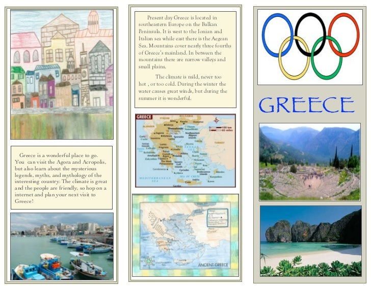 GREECE                                                 Present day Greece is located in                                   ...