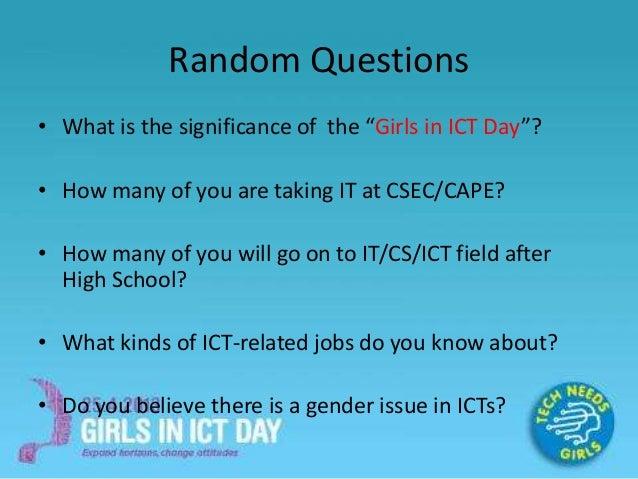random questions for girls