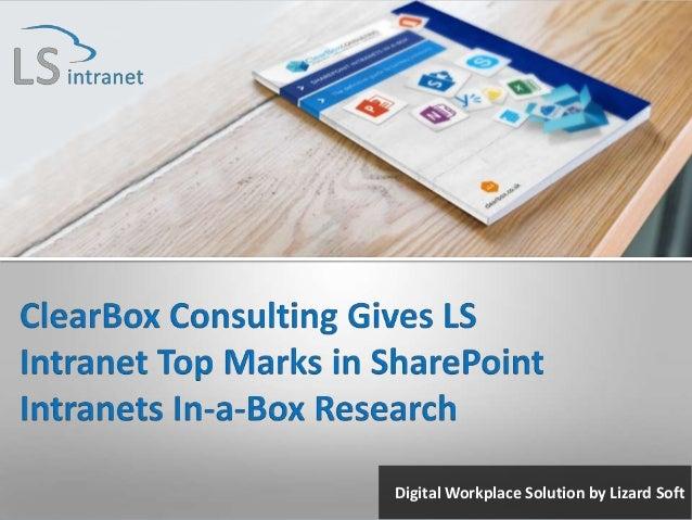 Digital Workplace Solution by Lizard Soft