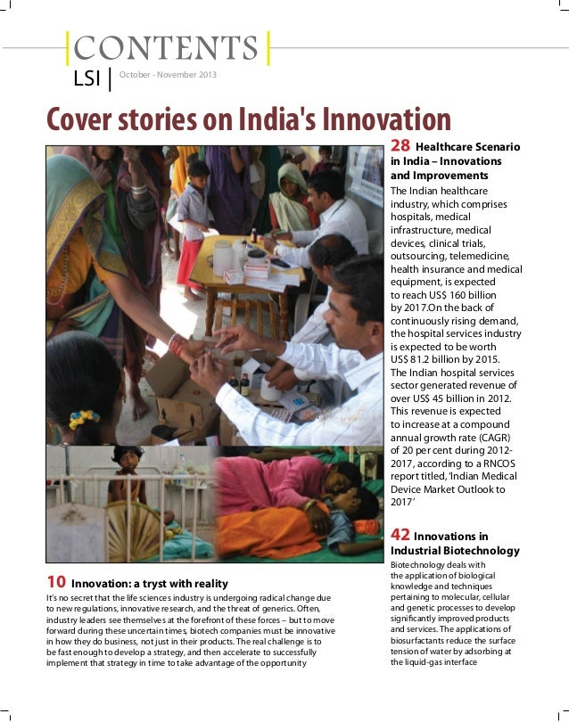 Article - Disruptive Innovations and Health Care Management