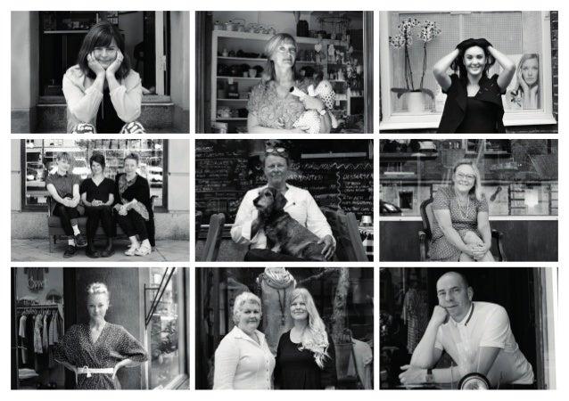 Att vara en Davidshallare Vår fotoutställning består av nio svartvita porträtt som visar en liten del av alla de verksamhe...