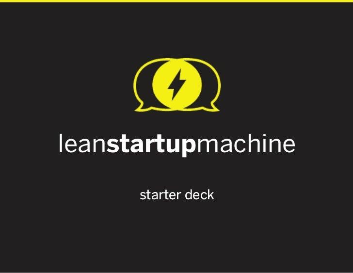 leanstartupmachine      starter deck