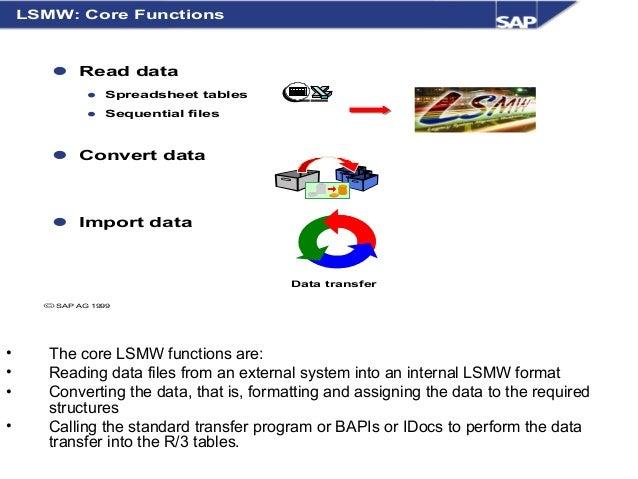 lsmw in sap abap pdf