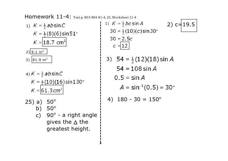 Homework114:Textp.803‐804#1‐4,25,Worksheet11‐4                                        1)                    2)c...