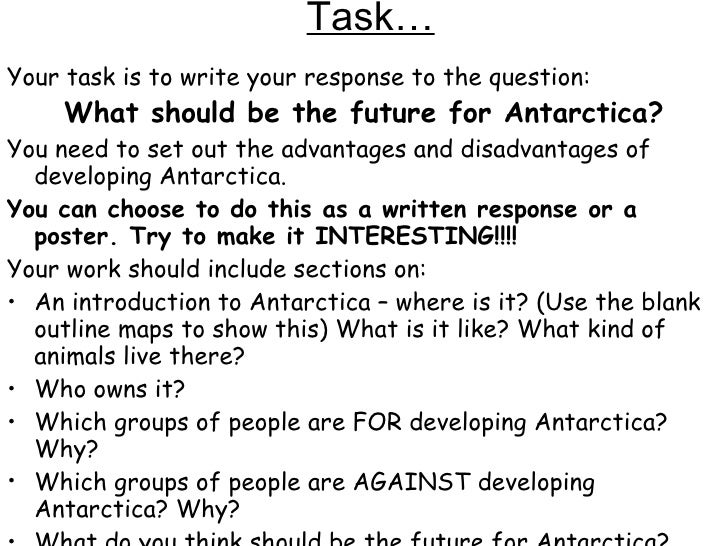 Debate: Ban on Antarctic exploitation