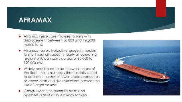 Crude Oil Carriers Types / Oil Tankers