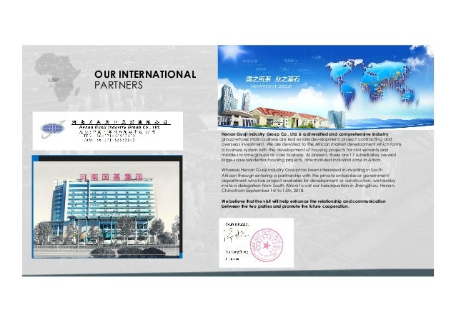 LSP Africa China Henan Guoji SA Property Developments Slide 3