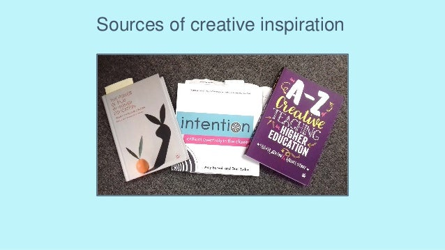 Sources of creative inspiration
