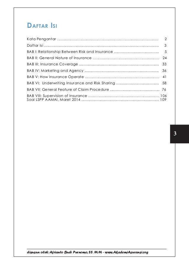 Kumpulan Soal Jawaban Ujian Lspp Aamai 101 Praktek Asuransi Septe