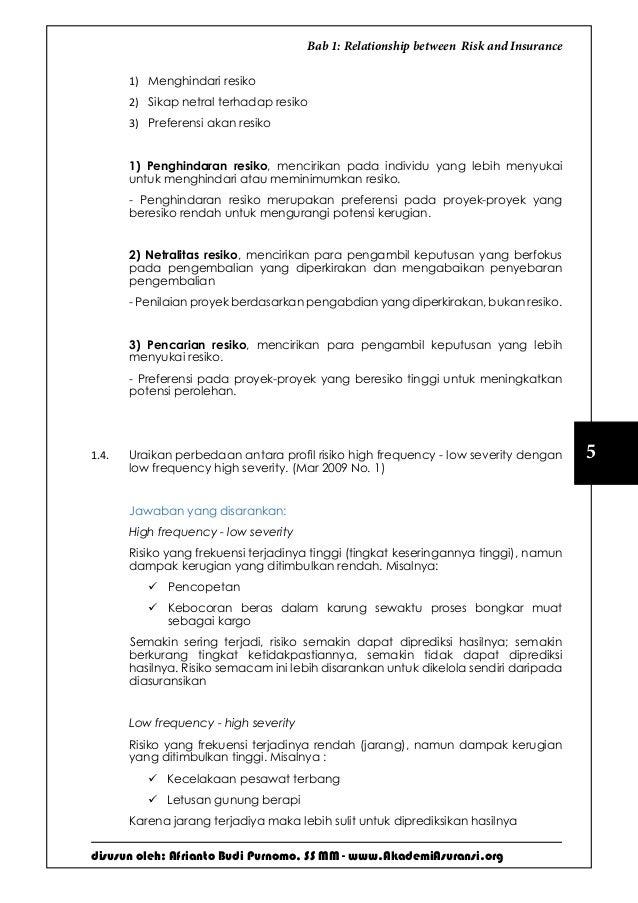 Soal Jawab Ujian Lspp Aamai 101 Praktek Asuransi Edisi September 2