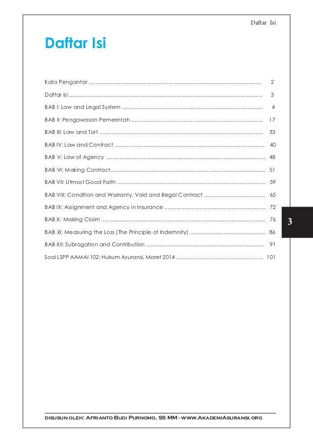 Tutorial Lspp Aamai 102 Hukum Asuransi Edisi Maret 2015