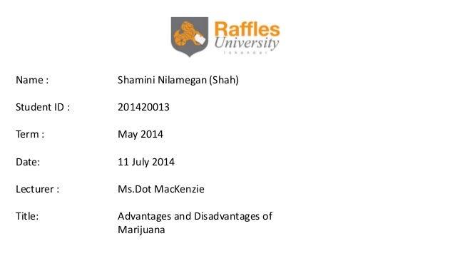 Name : Shamini Nilamegan (Shah) Student ID : 201420013 Term : May 2014 Date: 11 July 2014 Lecturer : Ms.Dot MacKenzie Titl...