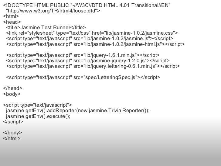 <ul><li><!DOCTYPE HTML PUBLIC &quot;-//W3C//DTD HTML 4.01 Transitional//EN&quot; </li></ul><ul><li>  &quot;http://www.w3....
