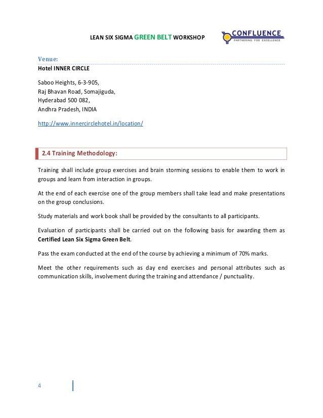 Lean Six Sigma Training Certification Hyderabad February