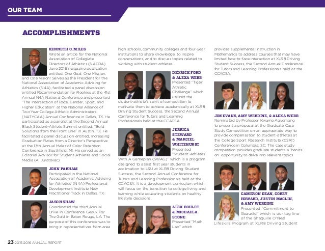 LSU Cox Communications Academic Center for Student-Athletes 2015-16 A…