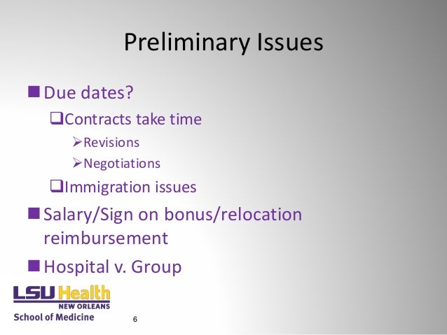 Lsu hsc physician contracting 101 6 11-18