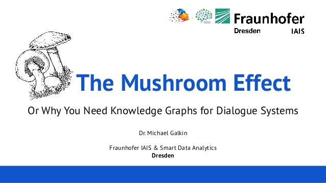 Michael Galkin 7. Leipziger Semantic Web Tag 22.05.2019 The Mushroom Effect Or Why You Need Knowledge Graphs for Dialogue ...