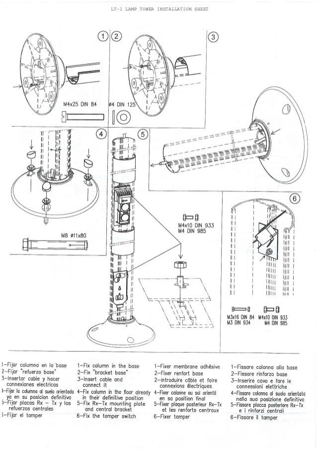 Takex LT-1 Instruction Manual