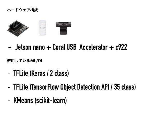 Jetson NanoとCoral USB Acceleratorでつくるセルフレジ