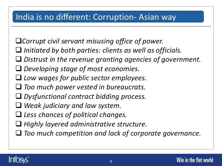 essay corruption in india