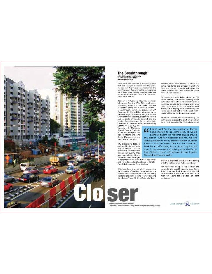 Closer: Circle Line Tunnel Breakthrough