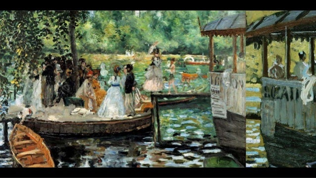 L'été (avec Claude Monet, Pierre-Auguste Renoir, Édouard Manet)  Slide 3