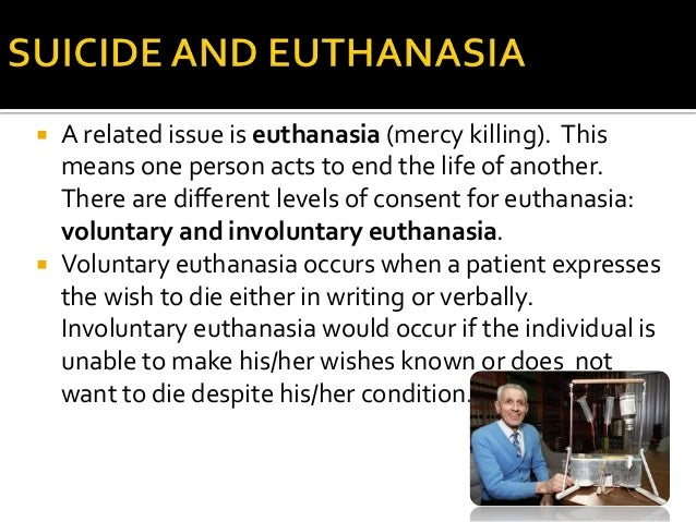 euthanasia mercy killing essay Essays from bookrags provide great ideas for euthanasia essays and paper the issue of mercy killing or euthanasia has been debated all over the world for many.
