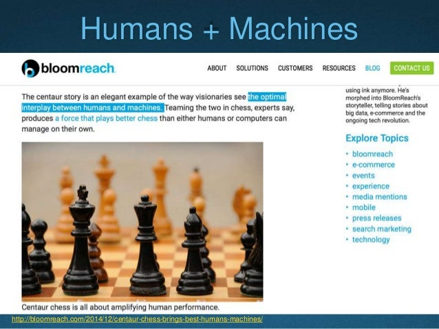 Current Economic Trend  The optimal interplay between humans and machines has become the new drive of today's economic gr...