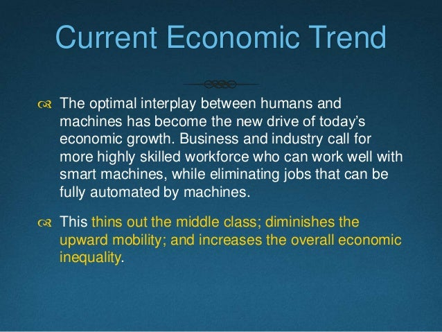 Rising Inequality http://en.wikipedia.org/wiki/Capital_in_the_Twenty-First_Century