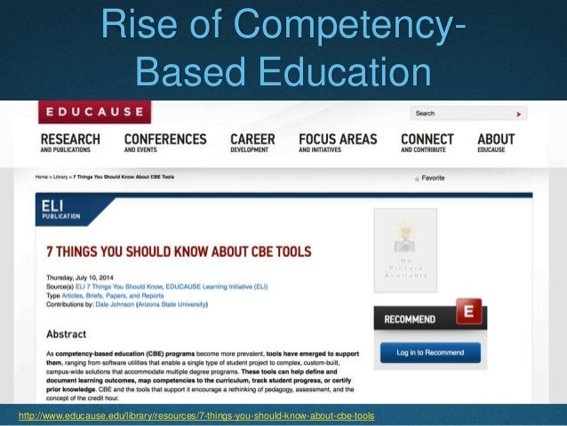 """Students Ready for the Market  With its transdisciplinary competency-based bachelor's degree, """"businesses will not have t..."""