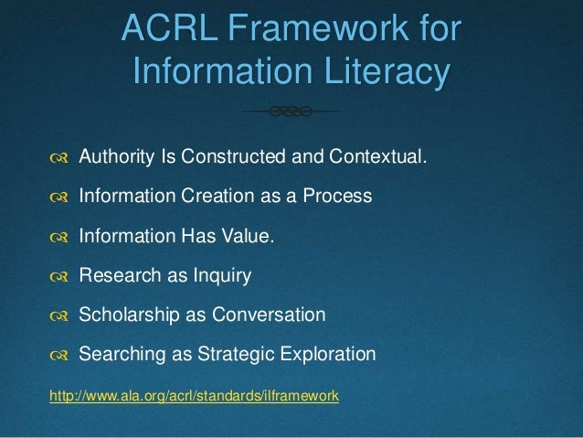 """John Jackson and Alice Whiteside, """"Open Sourcing Ideas: Sharing and Recreating a Library Instruction Program,"""" ACRL Tech C..."""