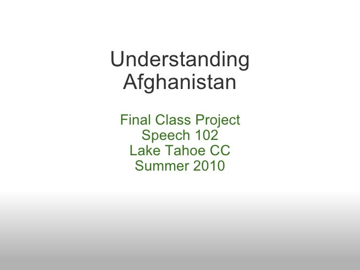 Ltcc Afghanistan project