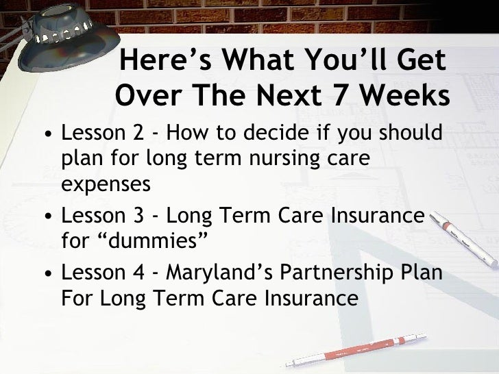 Long Term Care Planning Course