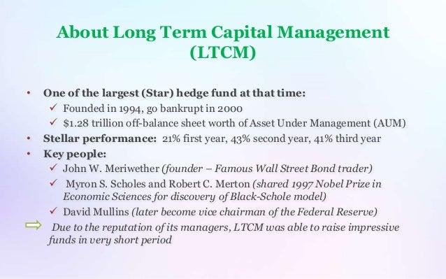 LTCM's Profit Motive Case Solution And Analysis, HBR Case ...