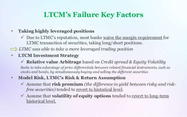 ltcm case study ppt
